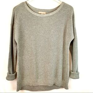 🌸Banana Republic Gray Knit Casual Sweater